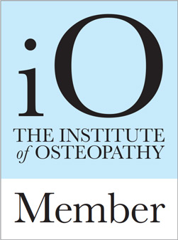 We're a member of the institute of osteopathy